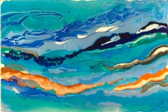 Marjorie Minkin CHANNELS 40.5 x 60 inches