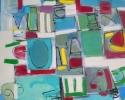 "Val Sloggett, ""Unusual"", Acrylic on canvas/Acrylique sur toile, 30""x22"""