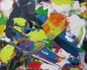 "Val Sloggett, ""Vortex"", 2014, Acrylic on canvas/Acrylique sur toile, 8""x10"""